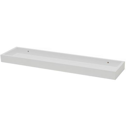 WANDBOARD Weiß - Weiß, Basics (60/4/15cm)
