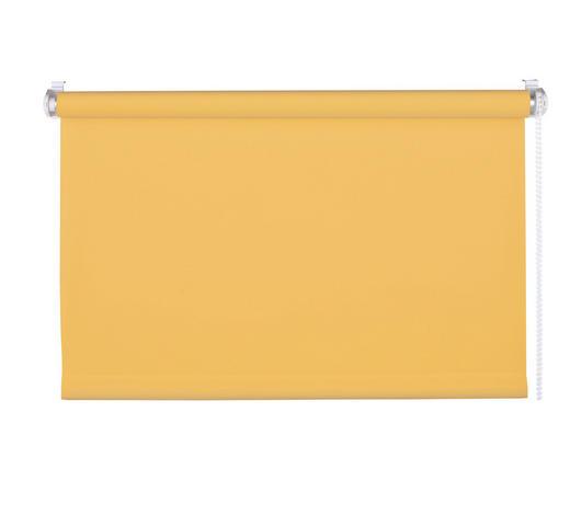 ROLLO  blickdicht   100/160 cm   - Gelb/Bernsteinfarben, Basics, Textil (100/160cm)