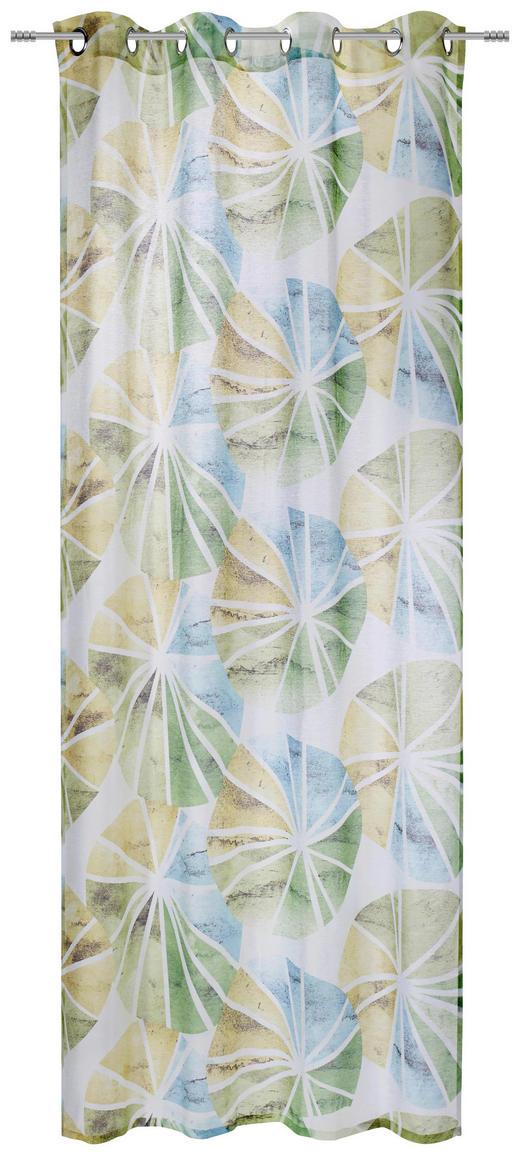 ÖSENSCHAL  halbtransparent  135/245 cm - Grün, Design, Textil (135/245cm) - Esposa