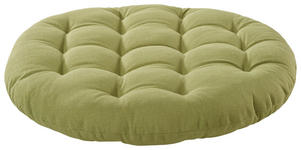 SITZKISSEN Apfelbaumfarben, Grün 40 cm - Apfelbaumfarben/Grün, Design, Textil (40cm) - Boxxx
