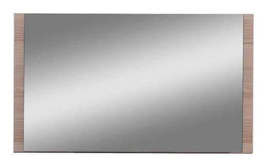 SPIEGEL - Eichefarben, Design, Glas/Holzwerkstoff (80/45/2cm) - Cassando