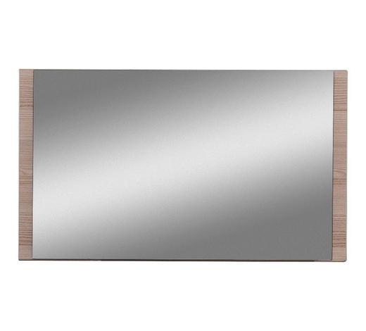 SPIEGEL 80/45/2 cm - Eichefarben, Design, Glas/Holzwerkstoff (80/45/2cm) - Cassando