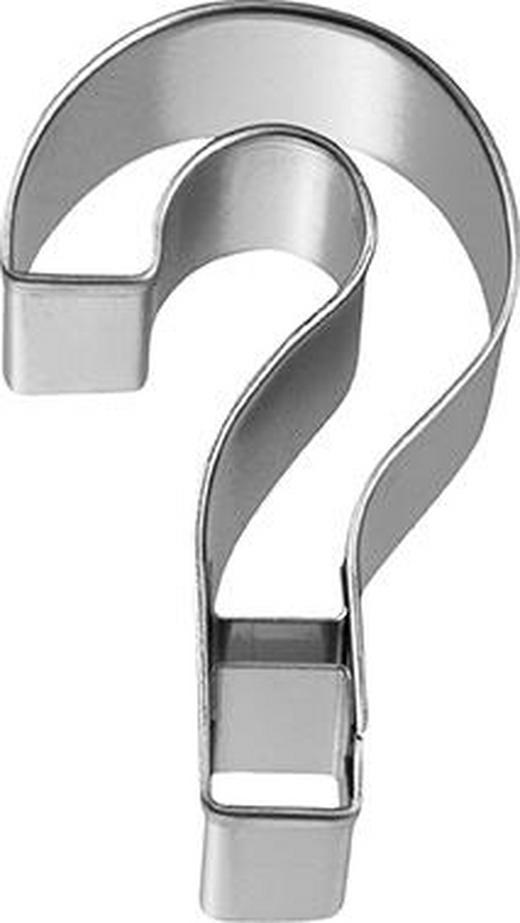 KEKSAUSSTECHFORM - Edelstahlfarben, Basics, Metall (3,5/2,5/6cm) - Birkmann