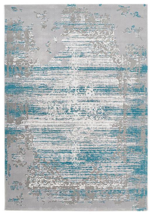 VINTAGE-TEPPICH  133/190 cm  Türkis - Türkis, Basics, Textil (133/190cm) - Novel