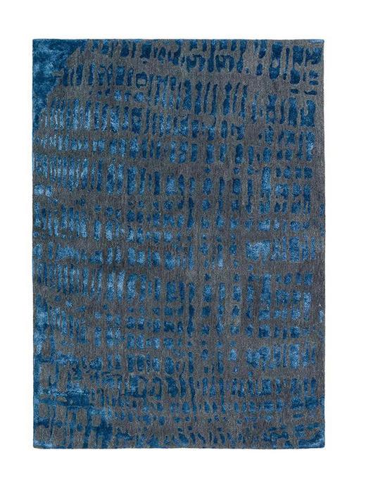 JOOP  CROCO  200/300 cm  Blau, Grau - Blau/Grau, Basics, Textil (200/300cm) - Joop!