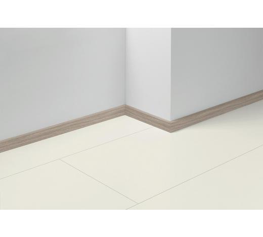 SOCKELLEISTE Grau, Eichefarben, Hellgrau - Eichefarben/Hellgrau, Basics, Holzwerkstoff (257/1,6/4cm) - Parador