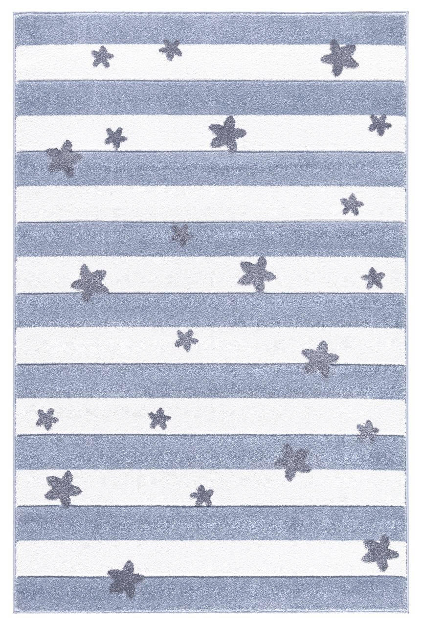KINDERTEPPICH  Blau  160/230 cm - Blau, Textil (160/230cm)