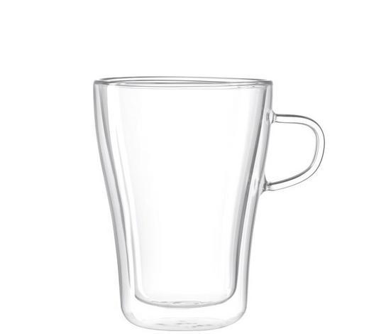 KAFFEEGLAS 350 ml - Klar, Design, Glas (350l) - Leonardo
