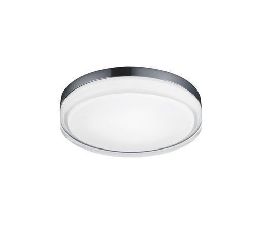 LED-DECKENLEUCHTE - Chromfarben, KONVENTIONELL, Metall (33/7cm) - Helestra