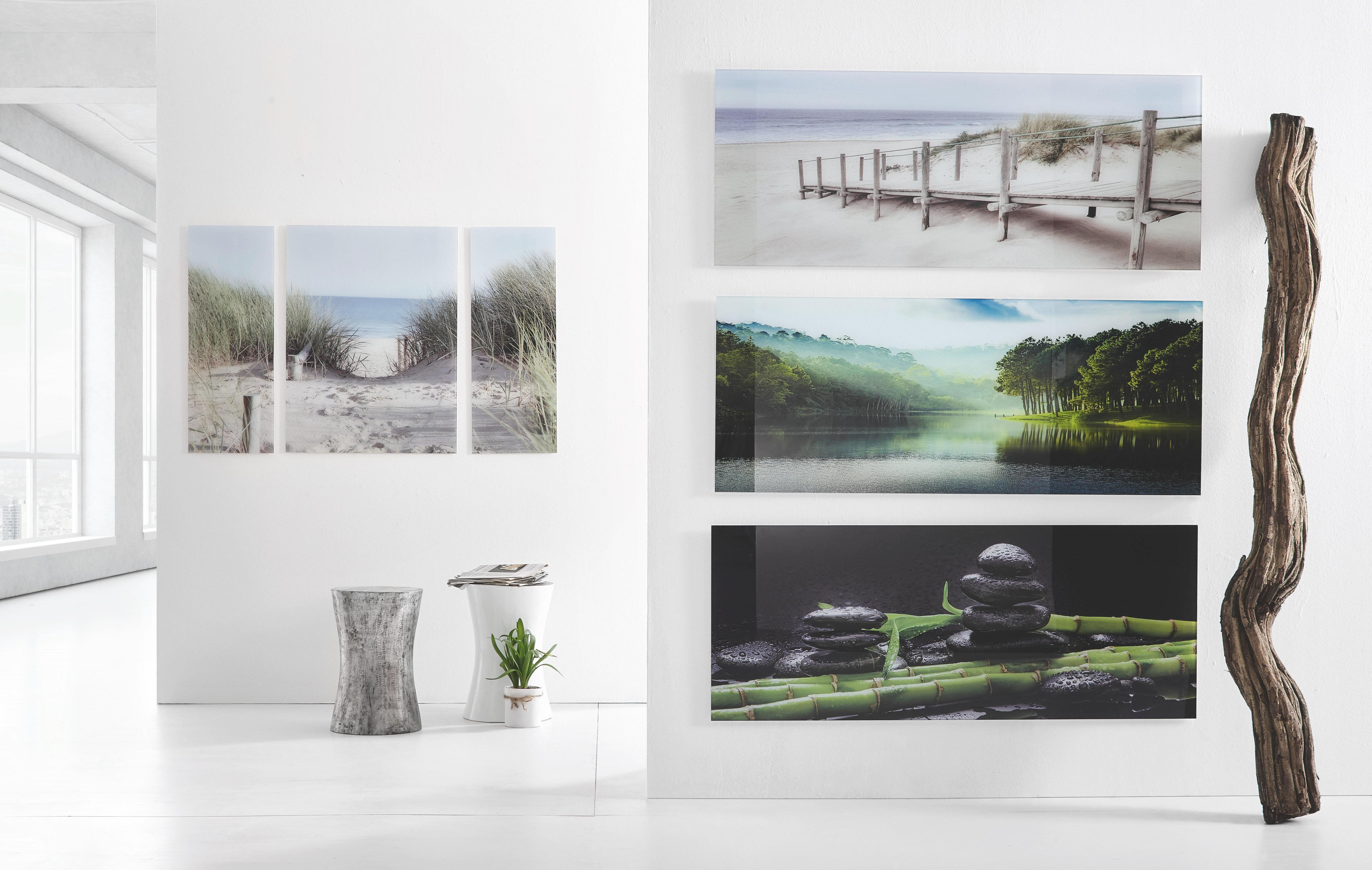 GLASTAVLA - multicolor, Klassisk, glas (50/125/2,00cm) - EUROGRAPHICS