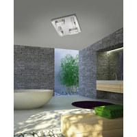 LED DECKENLEUCHTE   Alufarben, MODERN, Kunststoff/Metall (35/35/ ...