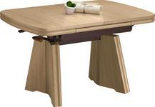 COUCHTISCH in Holzwerkstoff, Metall 90-131/65/56-75 cm - Ahornfarben, KONVENTIONELL, Holzwerkstoff/Metall (90-131/65/56-75cm) - Venda
