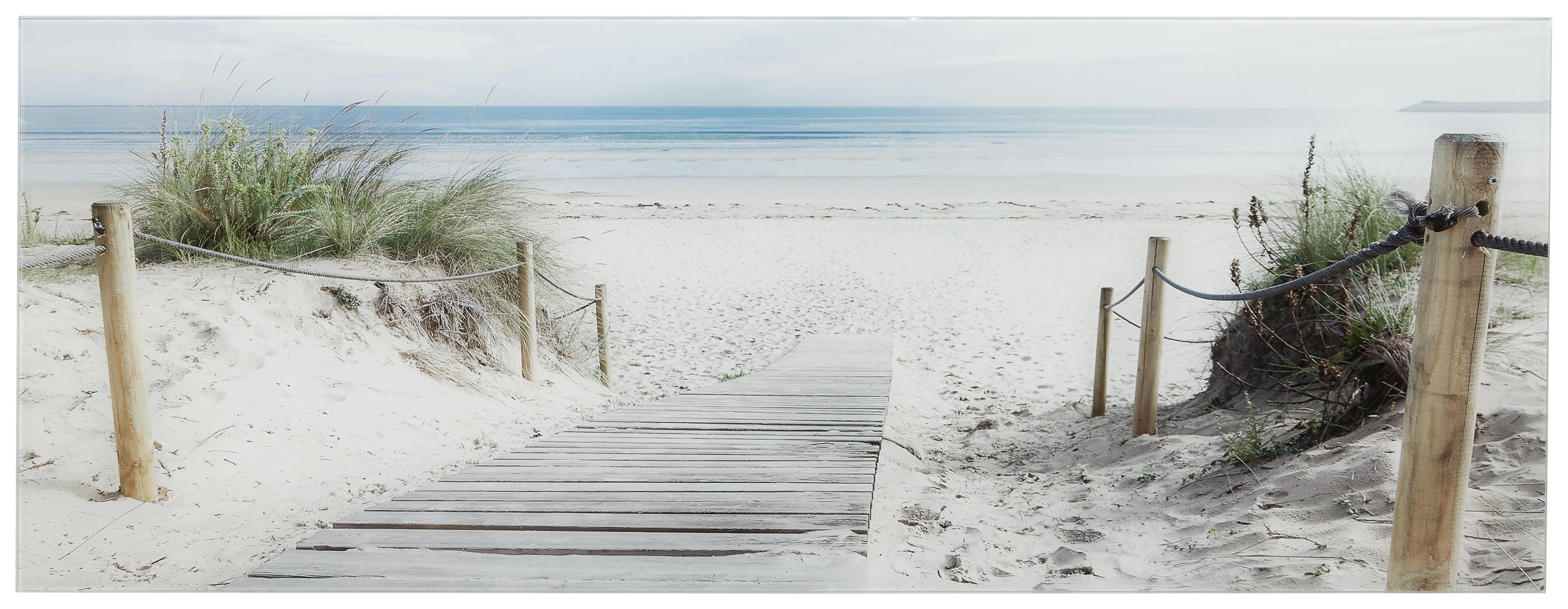 fabulous landschaft u natur strand u meer glasbild multicolor basics glas with glasbilder strand