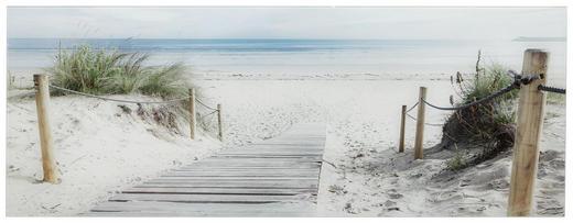 Strand & Meer GLASBILD - Multicolor, Design, Glas (30/80cm) - Eurographics