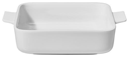 AUFLAUFFORM Keramik Porzellan - Weiß, Basics, Keramik (21/21cm) - Villeroy & Boch