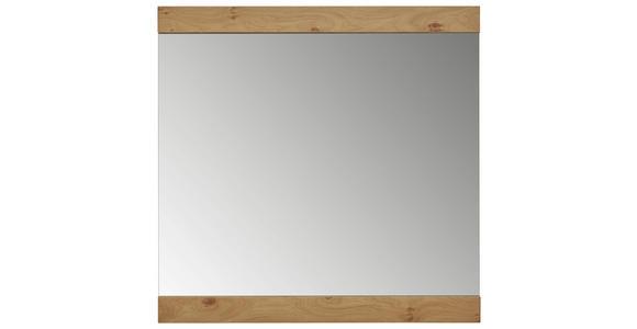 SPIEGEL  - Eichefarben, Design, Glas/Holz (84/83cm) - Dieter Knoll