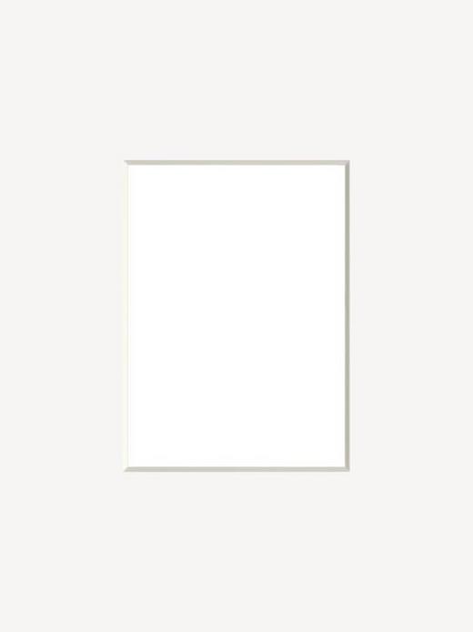 PASSEPARTOUT  Weiß - Weiß, Basics, Papier (13/18cm)