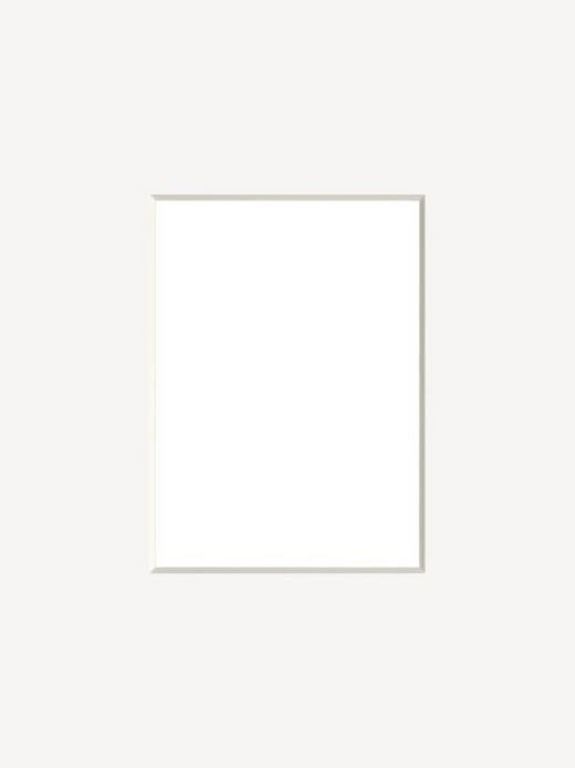 PASSEPARTOUT  Weiß - Weiß, Papier (13/18cm)