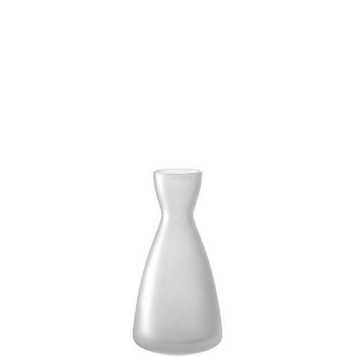 VASE 14,00 cm - Weiß, Basics, Glas (6,90/14,00/6,90cm) - Leonardo
