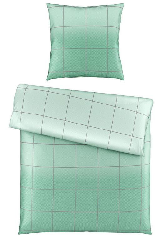 BETTWÄSCHE Satin Mintgrün 135/200 cm - Mintgrün, Design, Textil (135/200cm) - Novel