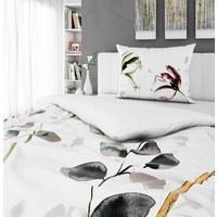 Bettwäsche 160/210 cm  - Weiß/Grün, Lifestyle, Textil (160/210cm) - Esposa