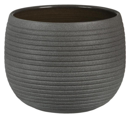 ÜBERTOPF - Braun, Basics, Keramik (18/14/18cm)