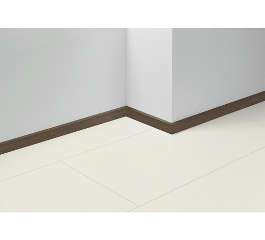 SOCKELLEISTE Eichefarben, Dunkelbraun - Eichefarben/Dunkelbraun, Basics, Holzwerkstoff (257/4/1,6cm) - Parador