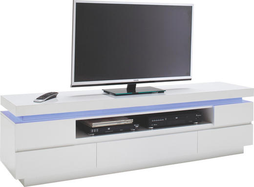 LOWBOARD in Weiß - Weiß, Design, Holzwerkstoff (175/49/40cm)