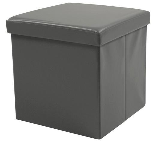 SITZWÜRFEL in - Grau, Basics, Textil (40/40/40cm) - Carryhome