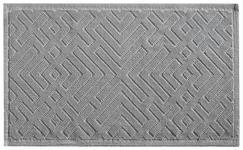 BADTEPPICH  Silberfarben  50/80 cm     - Silberfarben, KONVENTIONELL, Textil (50/80cm) - Esposa