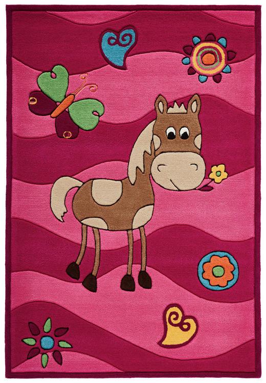KINDERTEPPICH  90/160 cm  Rosa - Rosa, LIFESTYLE, Textil (90/160cm) - Ben'n'jen