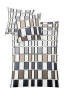 BETTWÄSCHE MIT WENDEFUNKTION 140/200 cm - Taupe, Design, Textil (140/200cm) - KLEINE WOLKE