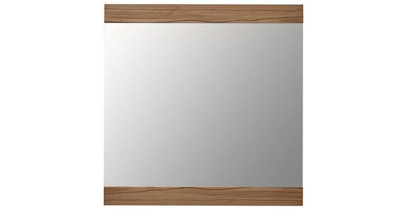 SPIEGEL 89/90/2 cm  - Buchefarben, Design, Glas/Holz (89/90/2cm) - Dieter Knoll
