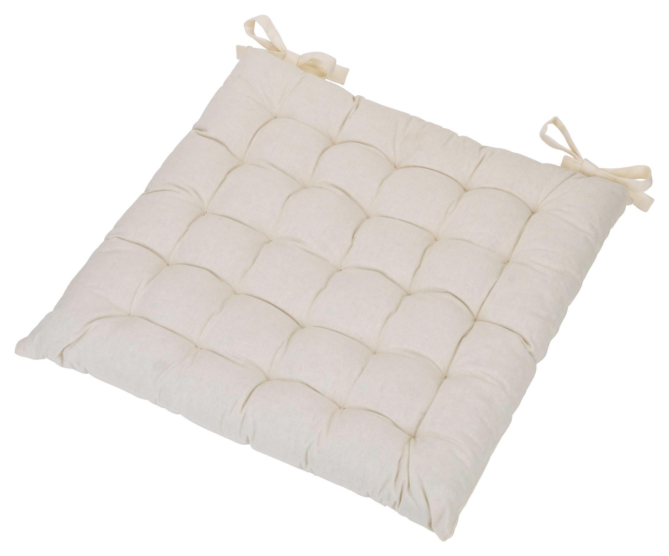 SITTDYNA - vit, Basics, textil (40/40/3cm) - Boxxx