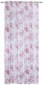 GOTOVA ZAVJESA - roza/bijela, Trend, tekstil (135/245cm) - Esposa