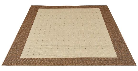 FLACHWEBETEPPICH  80/150 cm  Braun, Naturfarben - Braun/Naturfarben, Basics, Textil (80/150cm) - Boxxx