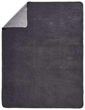 PLÄD - silver/grå, Basics, textil (150/200cm) - Novel