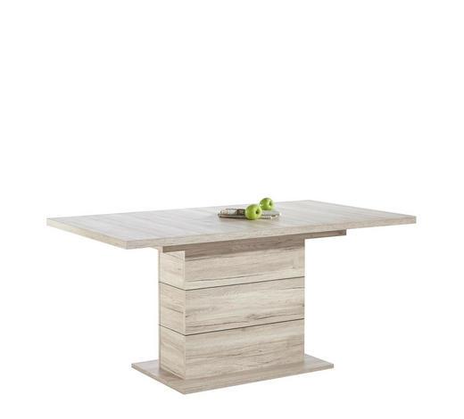 ESSTISCH rechteckig Eichefarben - Eichefarben, Design, Holzwerkstoff (160(200)/90/76,6cm) - Hom`in