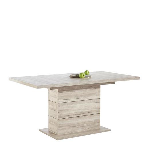 JÍDELNÍ STŮL, barvy dubu - barvy dubu, Konvenční, kompozitní dřevo (160(200)/90/76,6cm) - Hom`in