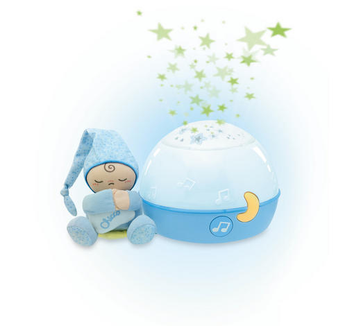 NOĆNO SVJETLO - plava/svijetlo plava, Basics, tekstil/plastika (17cm) - Chicco