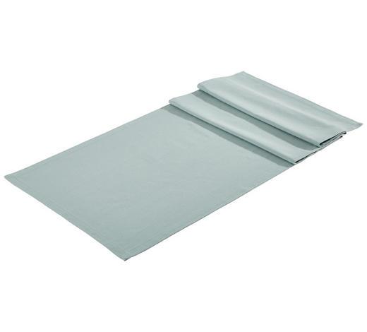 TISCHLÄUFER Textil Webstoff Blau 45/150 cm - Blau, Basics, Textil (45/150cm) - Bio:Vio
