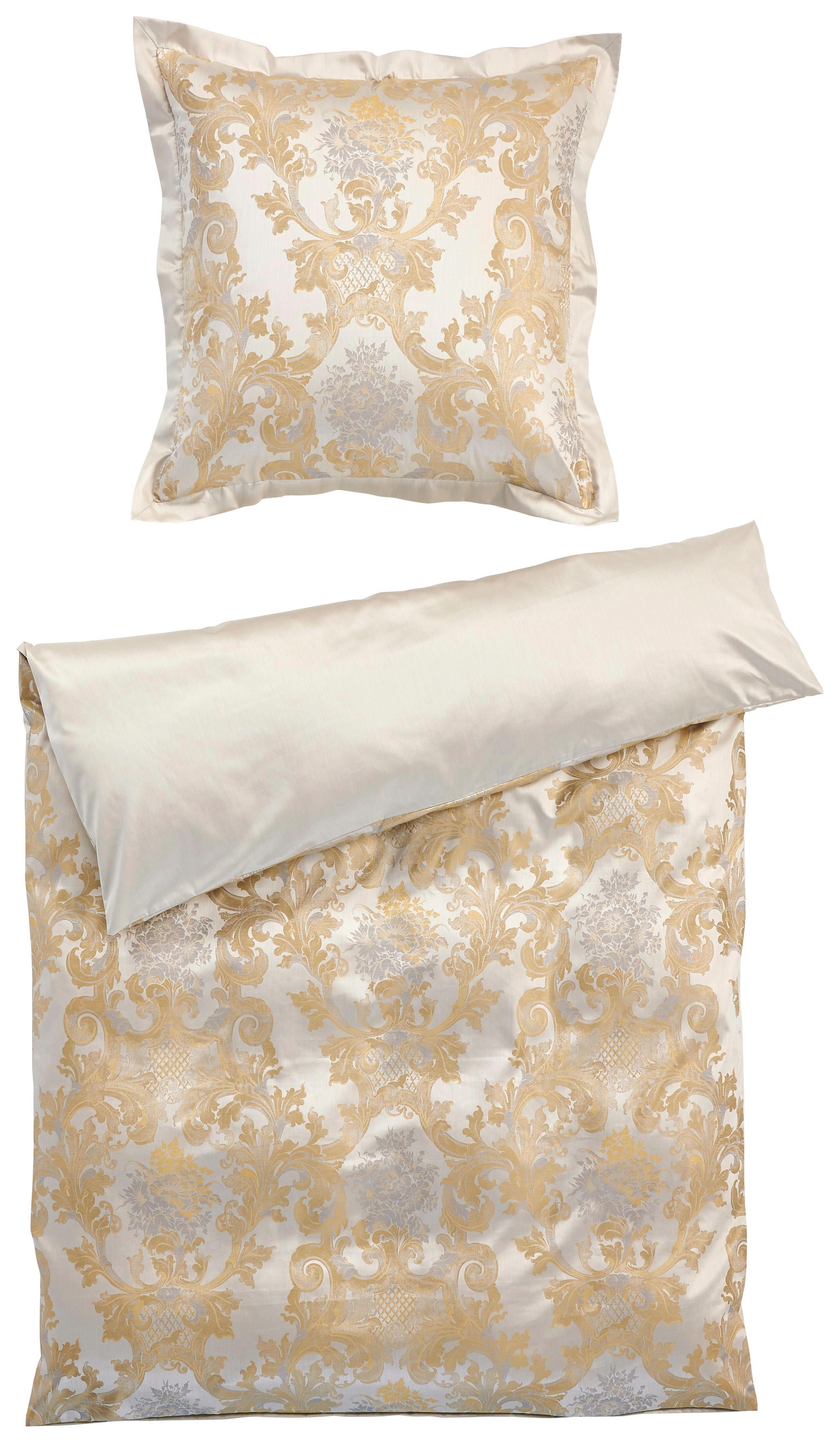 BETTWÄSCHE Goldfarben 135/200 cm - Goldfarben, Textil (135/200cm)