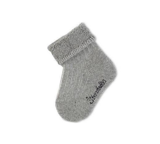 PONOŽKY - šedá, Basics, textilie (16null) - Sterntaler