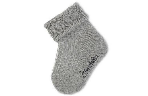 SOCKEN - Grau, Basics, Textil (18null) - Sterntaler