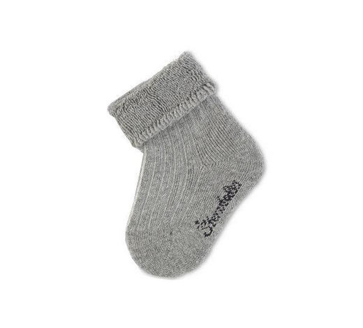 SOCKEN - Grau, Basics, Textil (14null) - Sterntaler