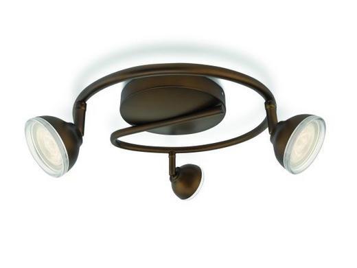 STRAHLER - Bronzefarben, LIFESTYLE, Metall (32,22/13/32,22cm)