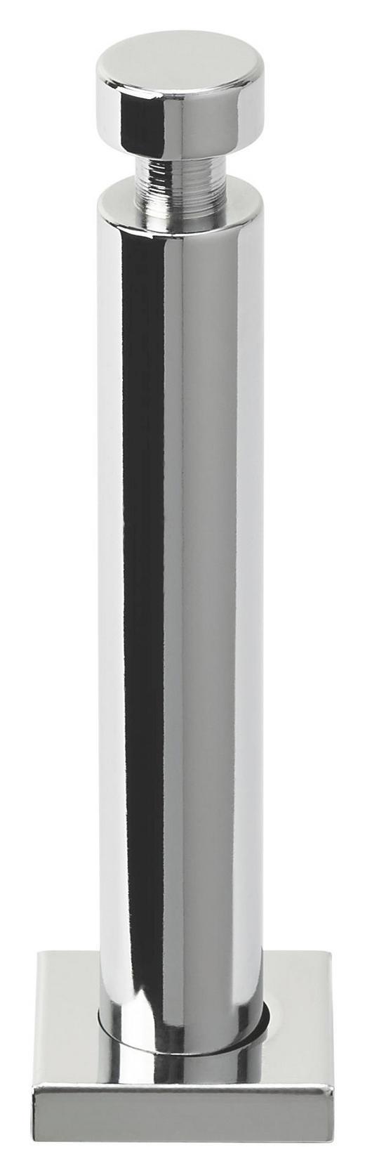 GARDEROBENHAKEN Chromfarben - Chromfarben, Design, Metall (4/4/15cm)