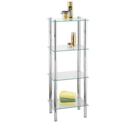 Badezimmerregal Glas Metall Chromfarben Online Kaufen Xxxlutz