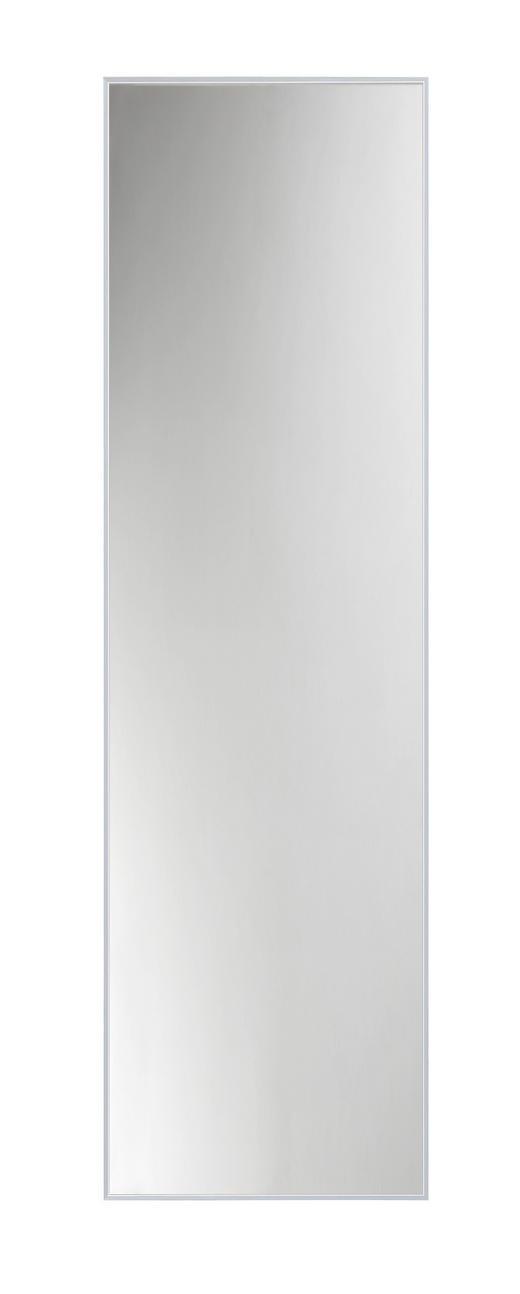 WANDSPIEGEL - Silberfarben/Alufarben, Design, Glas/Metall (41/141cm)