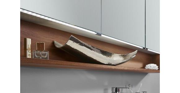 BADEZIMMER - Eichefarben/Weiß, Design, Glas/Holzwerkstoff (140cm) - Dieter Knoll